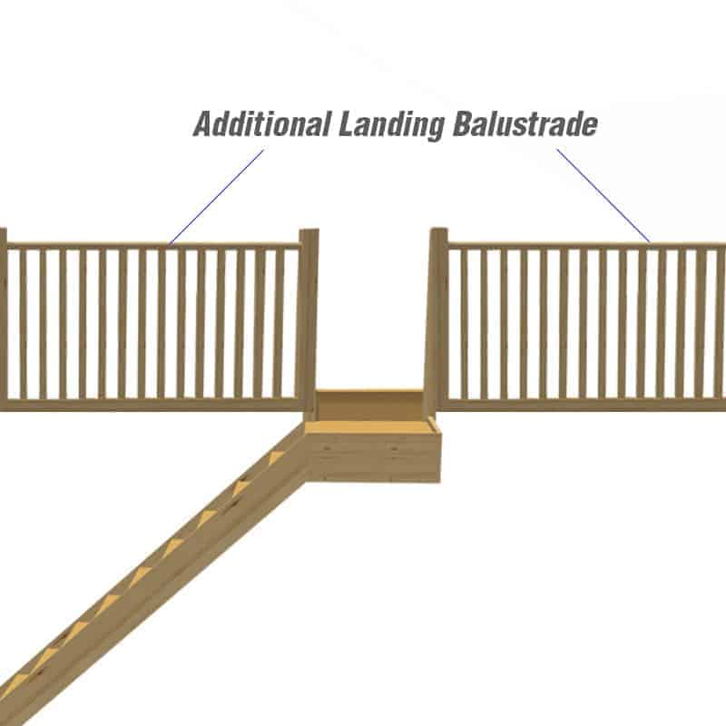 Do you require additional balustrades?