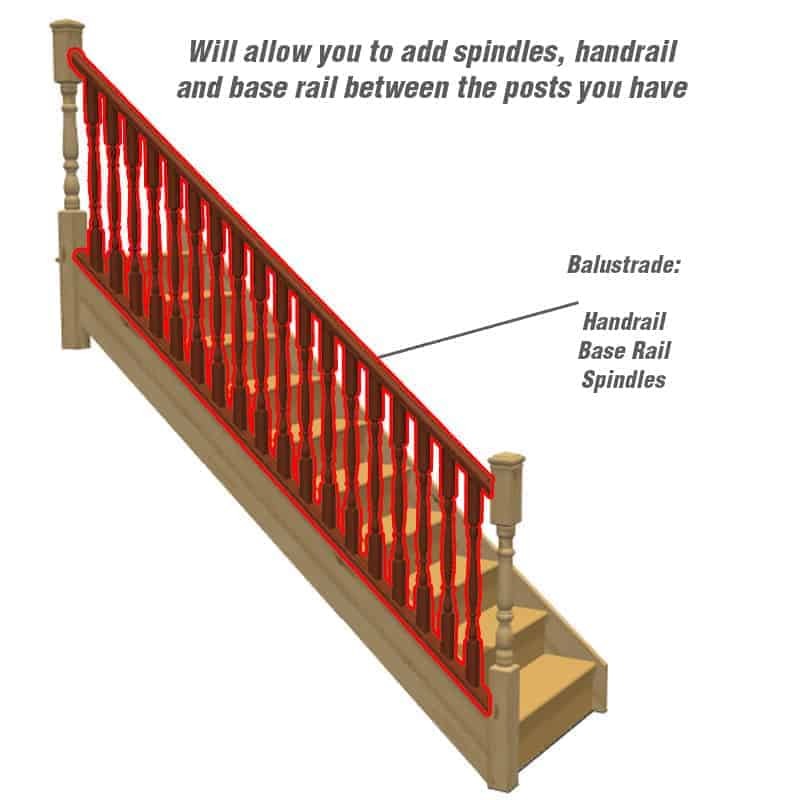 Do you require balustrades?